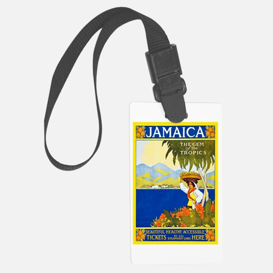 Jamaica Travel Poster 2 Luggage Tag