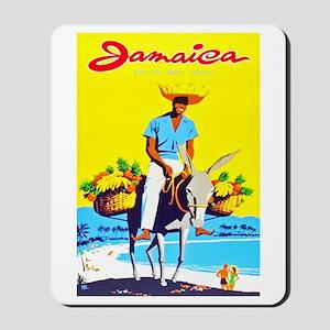 Jamaica Travel Poster 1 Mousepad
