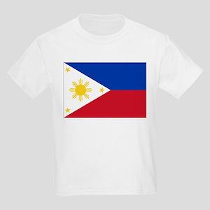 Philippine flag Kids Light T-Shirt