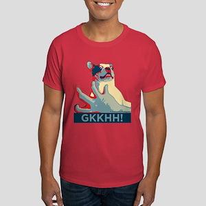 MENS Color T-Shirt Mackie belly tickle dog GKKHH!