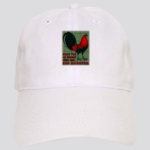 Big Red Rooster2 Cap
