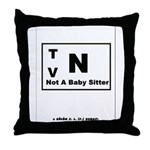 Rated TV N Throw Pillow