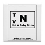 Rated TV N Tile Coaster