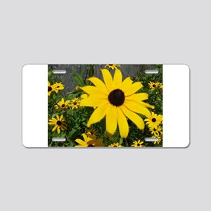 BLACK-EYED SUSAN™ Aluminum License Plate