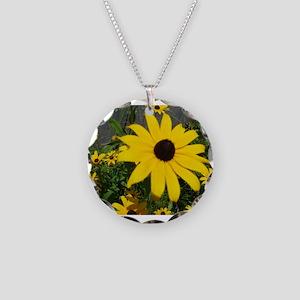 BLACK-EYED SUSAN™ Necklace Circle Charm