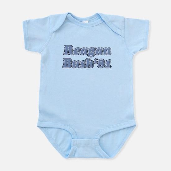 Reagan bush 81 retro 3.png Infant Bodysuit