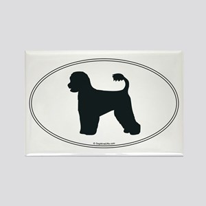 Portie Silhouette Rectangle Magnet