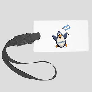 Argentina Penguin Large Luggage Tag