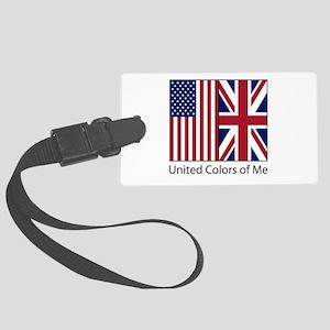 US UK Me Large Luggage Tag