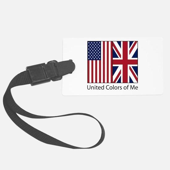 US UK Me Luggage Tag