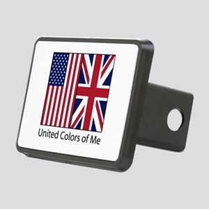 US UK Me Rectangular Hitch Cover