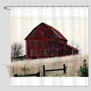 American Barns No.3 Shower Curtain