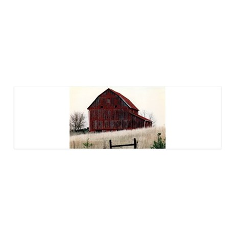 American Barns No.3 36x11 Wall Decal