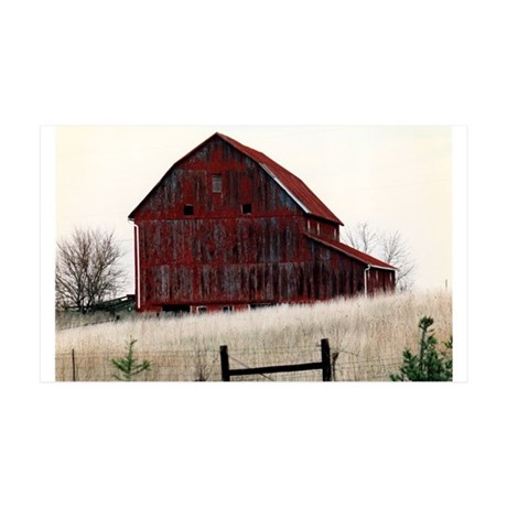 American Barns No.3 35x21 Wall Decal