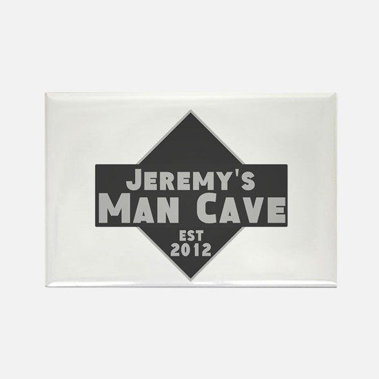 Personalized Man Cave Rectangle Magnet (10 pack)