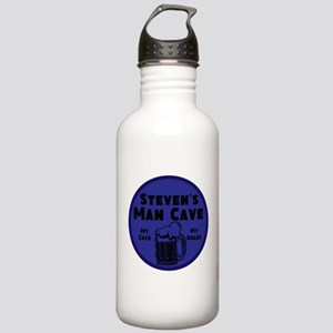 Personalized Man Cave Stainless Water Bottle 1.0L