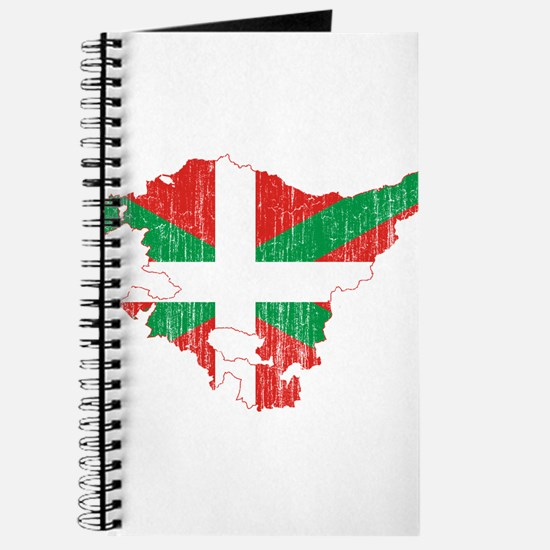 Basque Community Flag And Map Journal