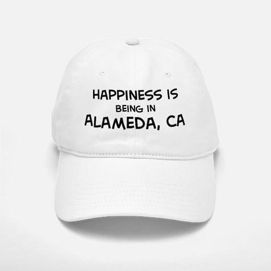 Alameda - Happiness Baseball Baseball Cap