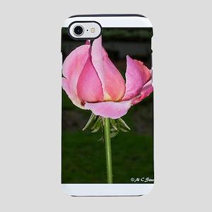 rose bud! pink rose, photo iPhone 7 Tough Case