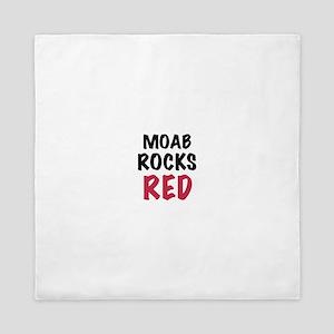 Moab rocks red Queen Duvet