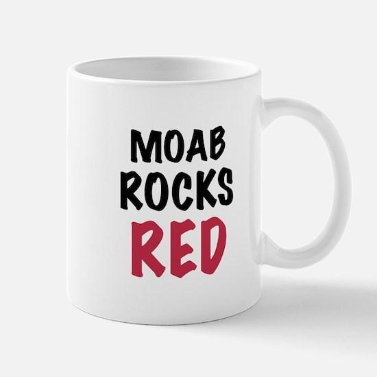 Moab rocks red Mug