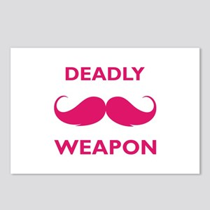 Deadly weapon Postcards (Package of 8)
