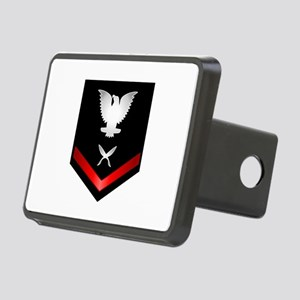 Navy PO3 Yeoman Rectangular Hitch Cover