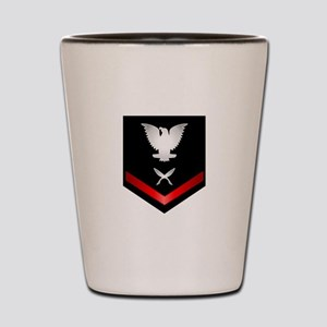 Navy PO3 Yeoman Shot Glass