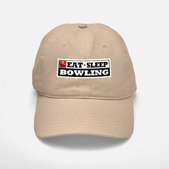 Eat Sleep Bowling Baseball Baseball Cap
