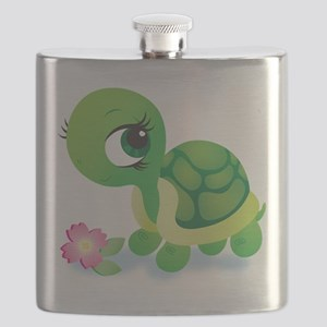 Toshi the Turtle Flask