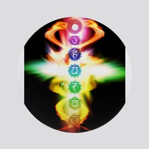 Chakras Ornament (Round)