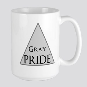 Gray Pride Large Mug