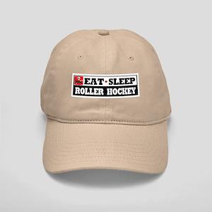 Eat Sleep Roller Hockey Cap
