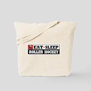 Eat Sleep Roller Hockey Tote Bag