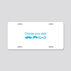 Choose your style Aluminum License Plate