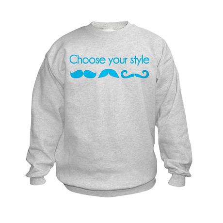 Choose your style Kids Sweatshirt