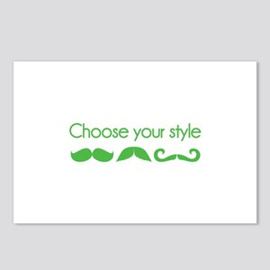 Choose your style Postcards (Package of 8)