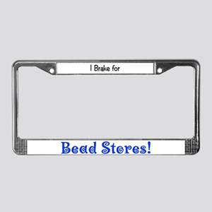 Bead Stores License Plate Frame