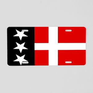 Arpitania flag Aluminum License Plate