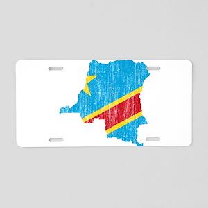 Democratic Republic Of The Congo Flag And Map Alum