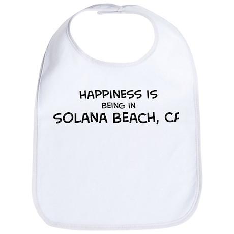 Solana Beach - Happiness Bib