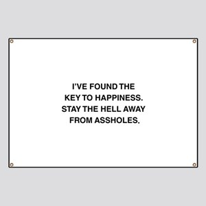 Key To Hapiness Banner
