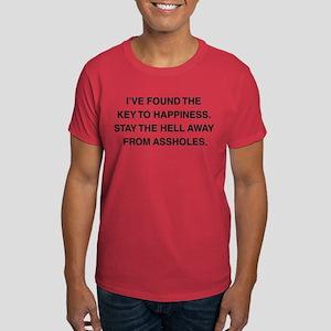 Key To Hapiness Dark T-Shirt