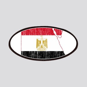 Egypt Flag And Map Patches