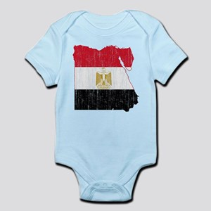 Egypt Flag And Map Infant Bodysuit