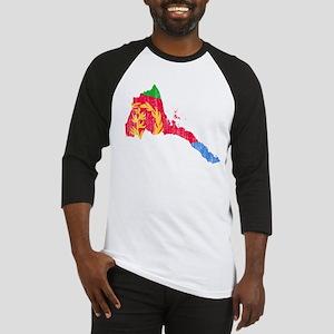 Eretria Flag And Map Baseball Jersey