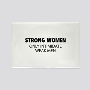 Strong Women Rectangle Magnet