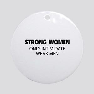 Strong Women Ornament (Round)