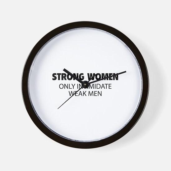 Strong Women Wall Clock