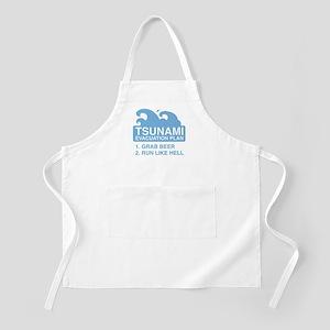 Tsunami Evacuation Plan Apron